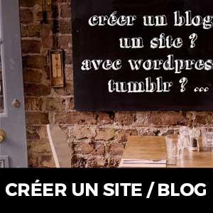formation créer un site / blog avec wordpress ou tumblr